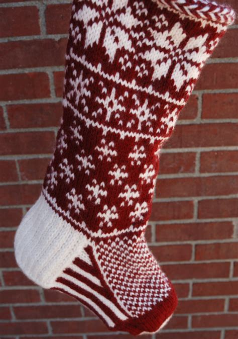 knit stocking pattern christmas easy paige s christmas stocking jennifer s blog