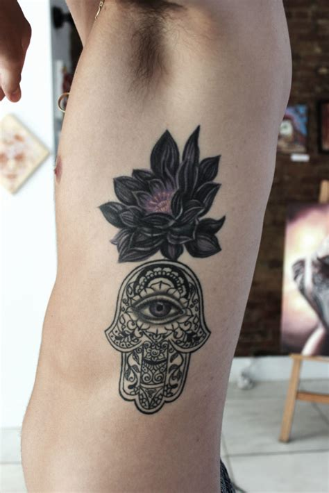 tattoo cover up montreal black lotus hamsa cover up tattoo abyss