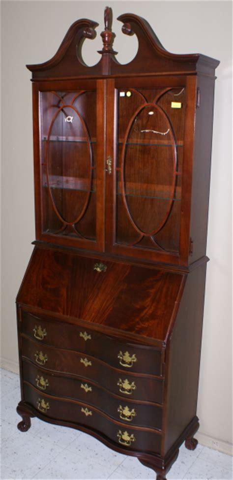 jasper cabinet company mahogany desk