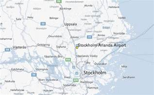 Airport Weather Stockholm Arlanda Airport Weather Station Record