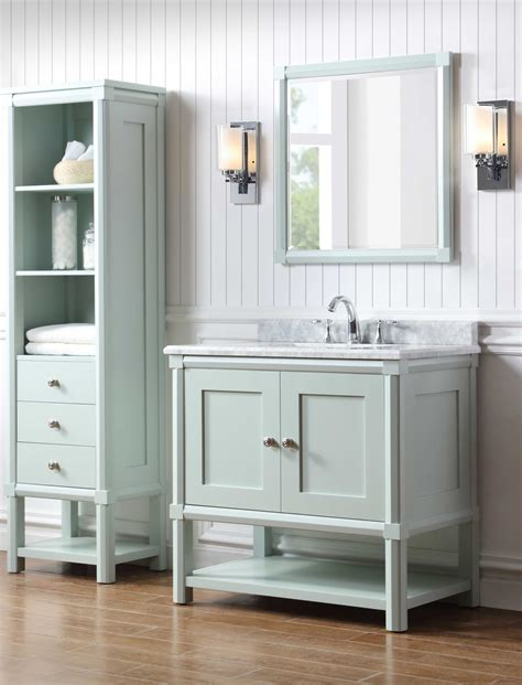 martha stewart bathroom cabinets martha stewart living sutton 36 in w x 22 in d vanity in