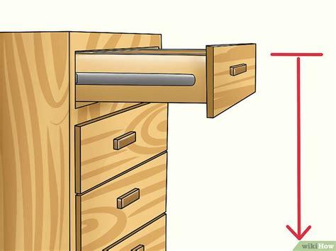 schublade ohne schiene schubladen entfernen wikihow