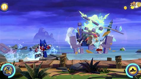 angry birds transformers official gameplay trailer youtube