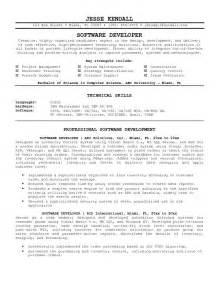 Staff Test Engineer Sle Resume by Software Developer Resume Sles Engineering Resume Lucaya International School