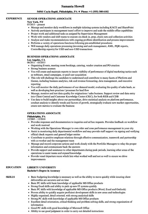 Operations Associate Description by Enterprise Risk Management Resume Your Duties After A Loss Objective Resume Best Resume Templates