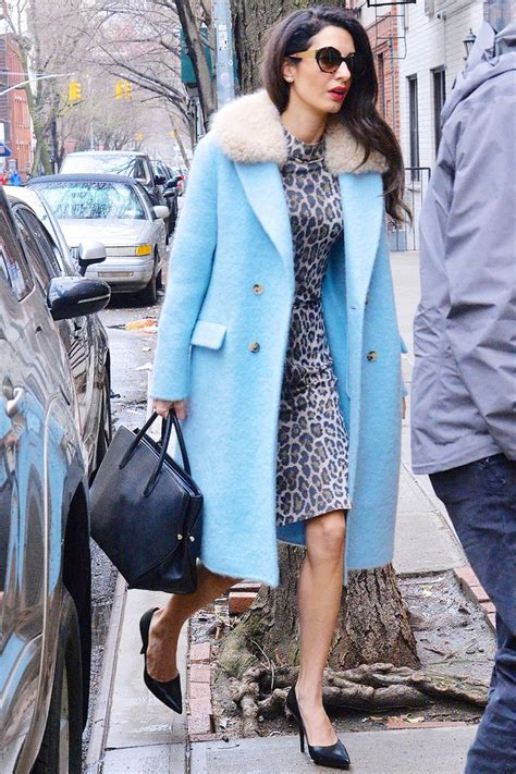 amal clooneys style     inspire