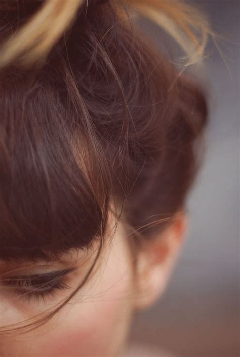 images of a messy bun with bang no hair out beauty looks messy hair bun fringe