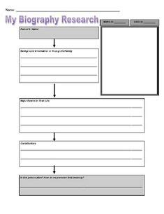 basic biography graphic organizer 1000 images about book reports on pinterest book