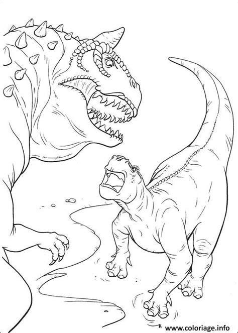 Coloriage Magique Dinosaure Imprimer L