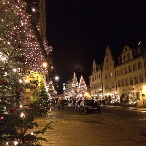 christmas town rothenburg germany