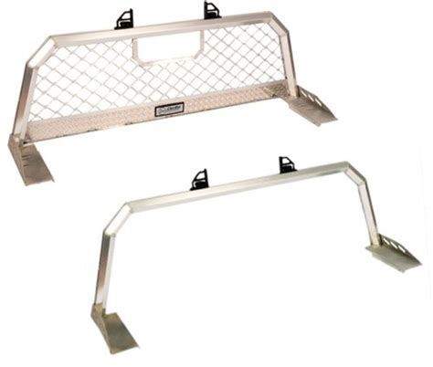 Ladder Rack Aluminum by Deezee Custom Ladder Rack W Mesh Screen Headache Rack