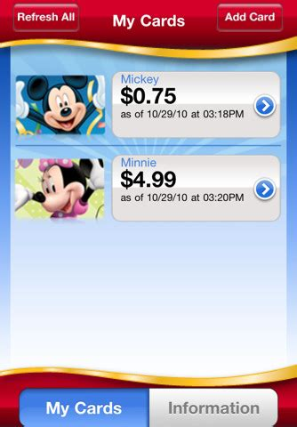 Disney Gift Card App - disney gift card app for ipad iphone finance