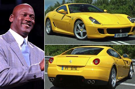 michael jordan ferrari stunning celebrity cars we really hope they have great