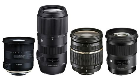 The eight best DSLR lenses you can buy from third party