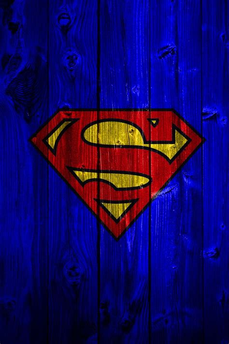 wallpaper iphone 6 hd superman blue wood superman logo wallpaper free iphone wallpapers