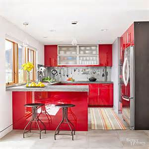 Red And White Kitchen Design modern kitchens with stainless steel backsplash designs