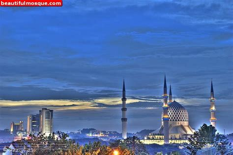 wallpaper shah alam beautiful mosques pictures