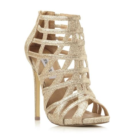 glamor gold heel prom shoes 2017 bridal trend ideas
