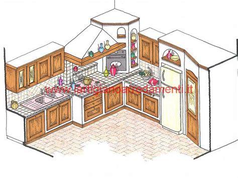 Disegni Di Cucine In Muratura by Progetti Cucine In Muratura Pag 2