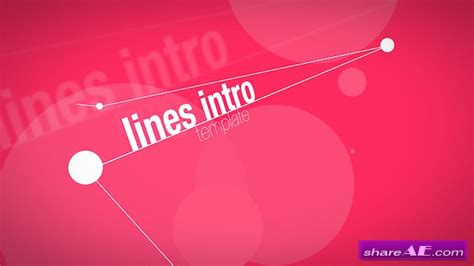 lines opener 187 free after effects templates after
