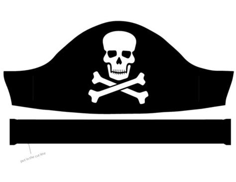 pirate hat template to print 18 best decorations and supplies images on
