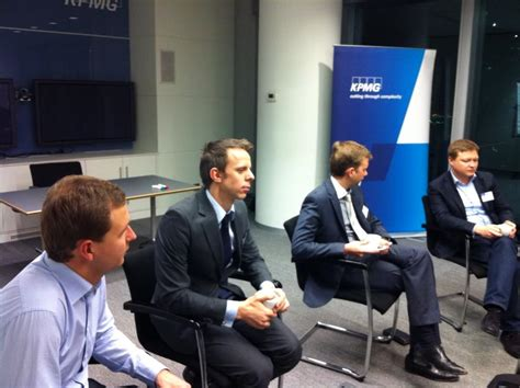Kpmg Mba Careers by Ie Alumni Met In Moscow At Kpmg Office For Your Career