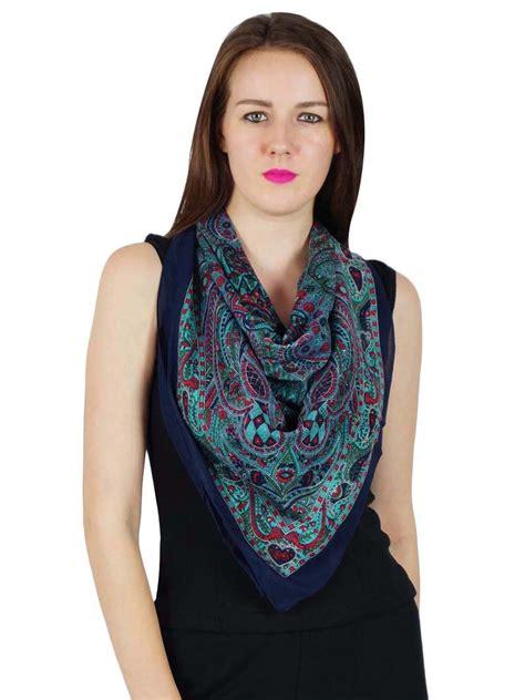 new cotton scarf square neck wrap fashion bandana