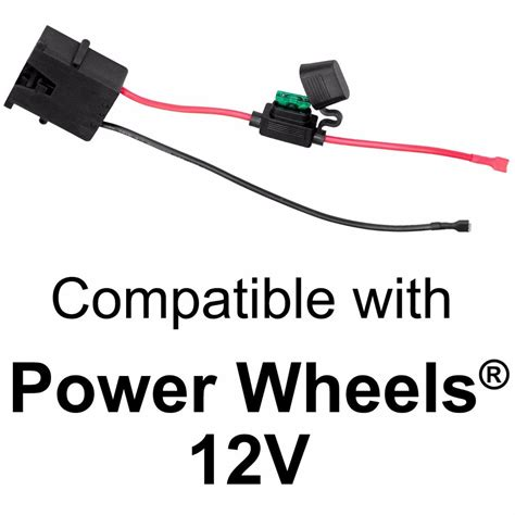 battery power wire wire harness connector for fisher price 174 power wheels 174 12