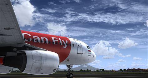 airasia virtual indonesia airasia a320 cfm aerosoft community services
