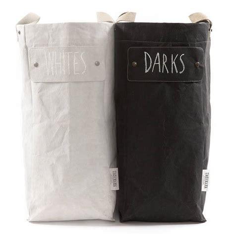 Washable Paper Laundry Bag Black Uashmama Petite Washable Laundry