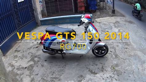 Modifikasi Vespa Gts 150 by Review Vespa Gts 150 Jakarta Indonesia Hit 100