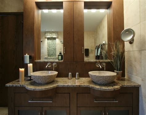 his and hers bathroom lodge contemporary master modern bathroom miami