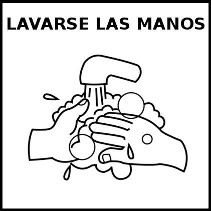 imagenes blanco y negro manos lavarse las manos educasaac