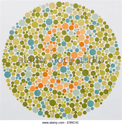 what color are used for which tests in phlebotomy ishihara test stock photos ishihara test stock images