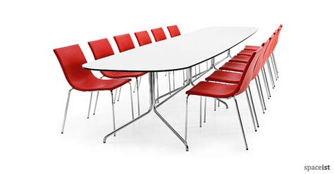 14 person table new bond 14 person conference table spaceist