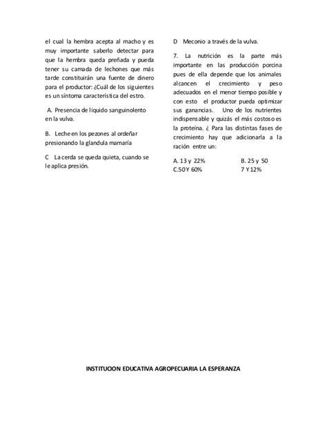 examen icfes grado sexto uno segundo periodo 2014 las actual examen tipo icfes segundo periodo 2014