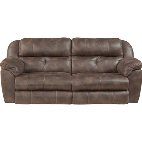 Catnapper Sofa Recliner Catnapper Ferrington 761891 Power Headrest Lay Flat Reclining Sofa Great American Home Store
