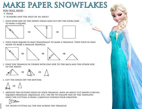 How To Make A Paper Snowball - paper snowflakes free disney s frozen printables
