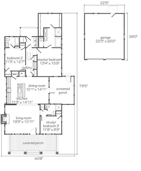Southern Living Floor Plans Fox Hill Southern Living House Southern Living House Plans Fox Hill