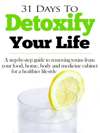 How To Detox Your Home From Cancer by Detoxify Your Week 2 Detoxify Your Home With