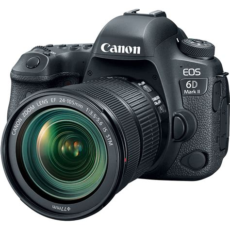 eos 6d dslr canon eos 6d ii dslr with 24 105mm 1897c021 b h