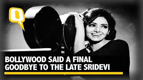 sridevi quint bollywood says goodbye to sridevi forever the quint