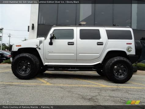 Hummer H2 Limited Edition by 2009 Hummer H2 Suv Silver In Limited Edition Silver