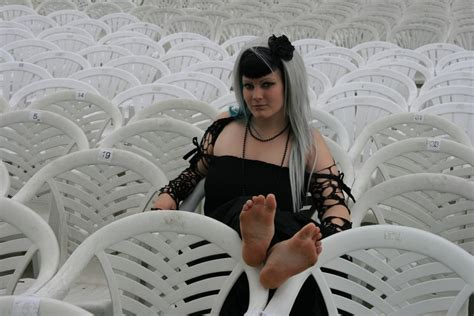 emo barefoot bare feet tied up hot girls wallpaper