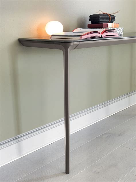 slim desk for slim console tables that will add the sophistication of