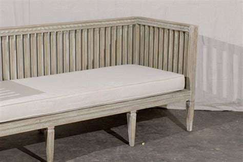 painted wooden benches swedish early 19th century period gustavian painted wood