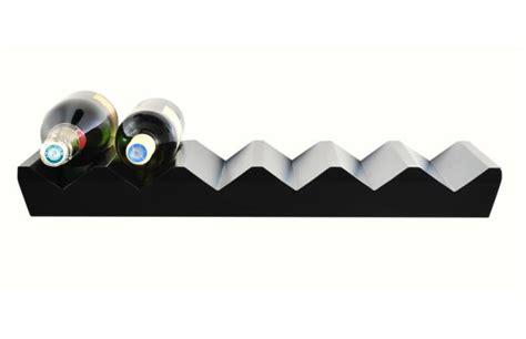 mensole nere mensola da bar porta bottiglie nere california miliboo