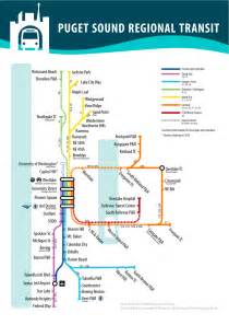 Seattle Metro Map by Re Thinking Metro S Maps