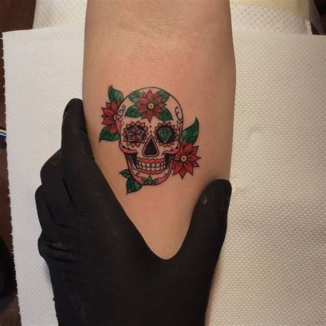 small sugar skull tattoo small tattoos for and