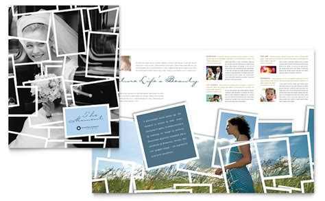 photography brochure templates photographer brochure template word publisher